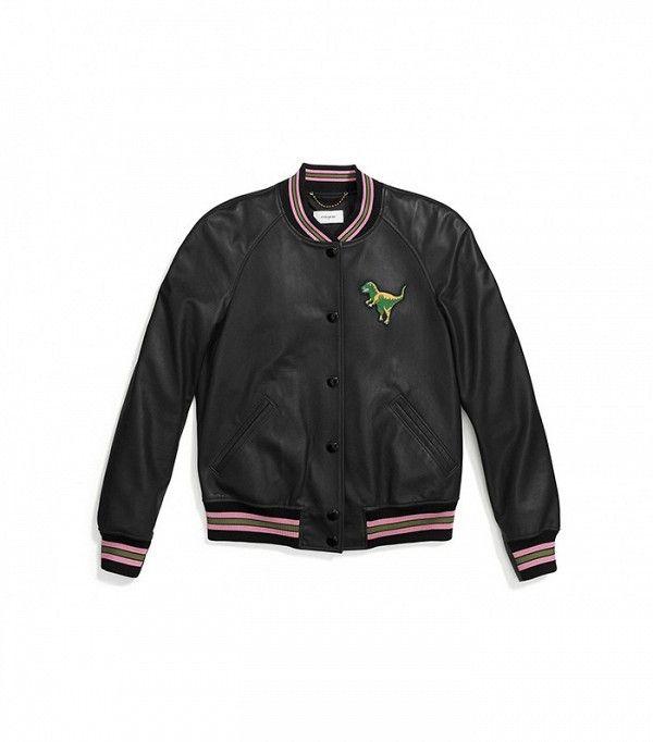 Coach Rexy Varsity Jacket