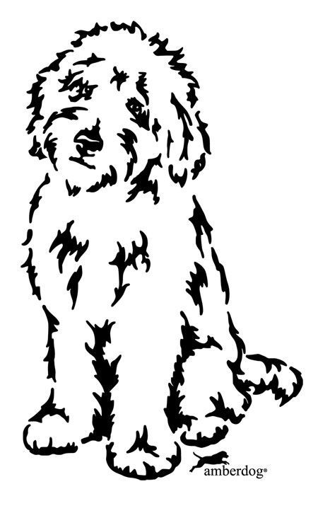 Image Result For Minimalist Dog Tattoo Labradoodle Drawing