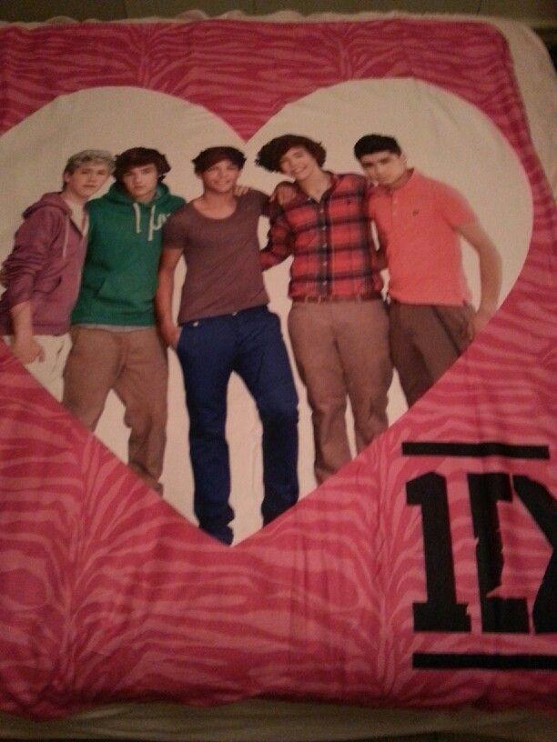 My new 1D blanket♥