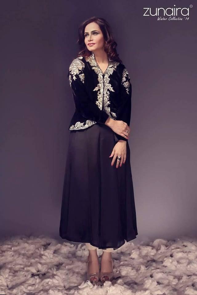 ef56e35194b Latest Pakistani Party wear Dresses for Women 2015-16 by Zunaira Lounge  Formal…