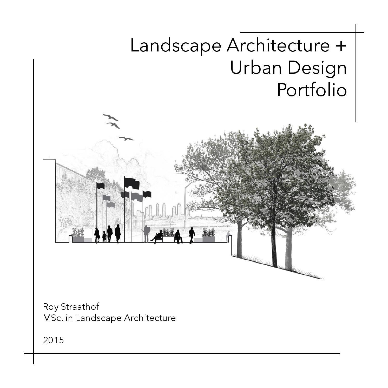 Landscape Architecture Urban Design Portfolio