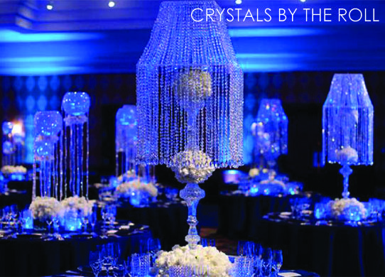 I Am Going To Have To Find A Use For All Of This That You Can Buy On This Website Wedding Supplies Wholesale Wedding Party Decorations Crystal Curtains