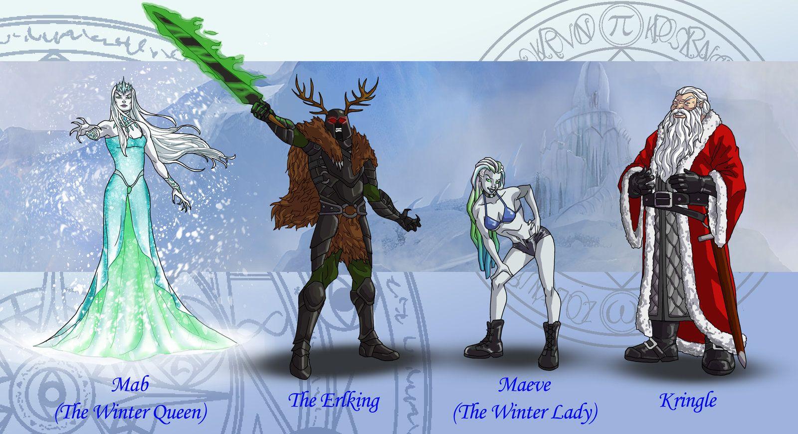 Dresden Files Characters 5 By Wildcard24iantart On @deviantart