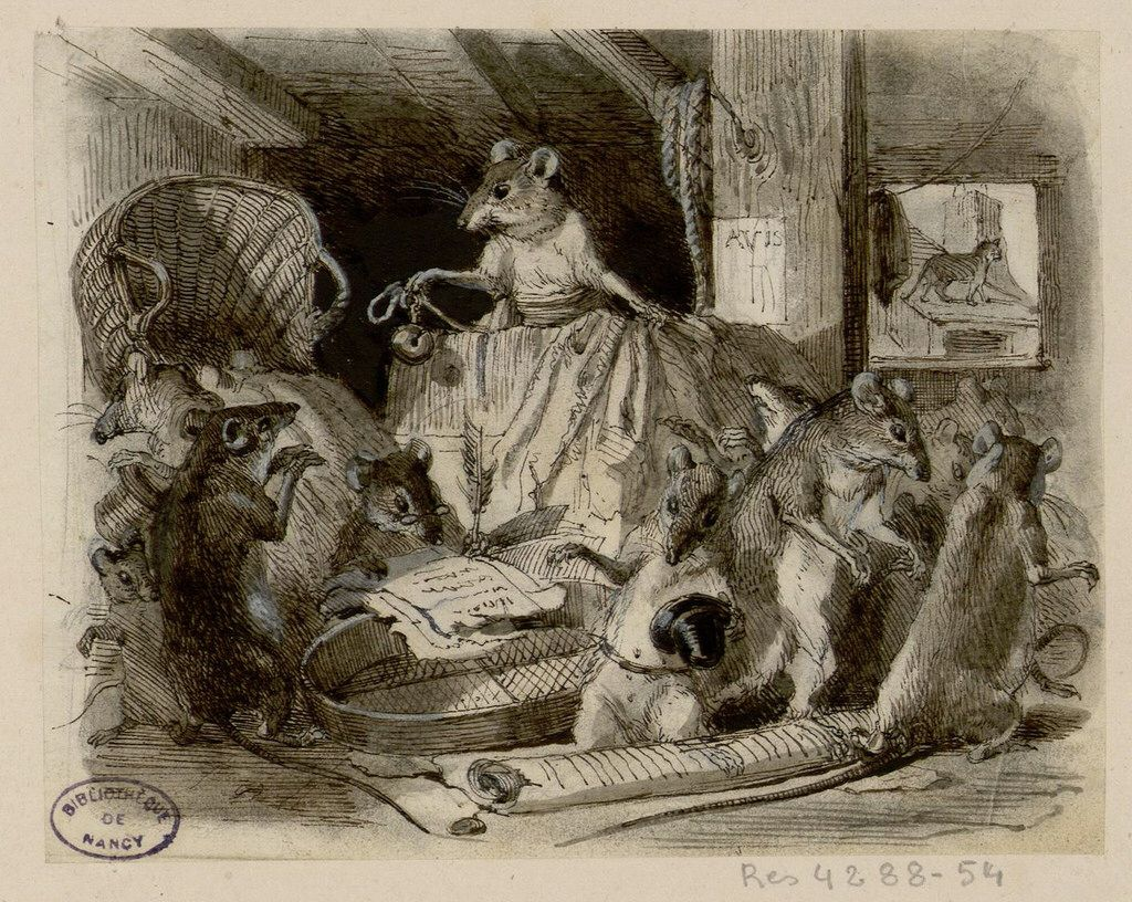 Conseil tenu par les rats - Jean de La Fontaine 8c2321688c67b5efefd55bdc15c79cf4