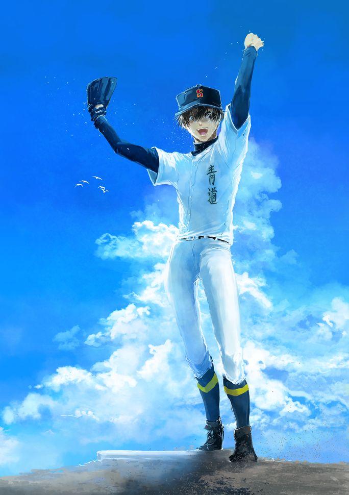 Sawamura Eijun Diamond No Ace Ace Of Diamonds Ace Anime