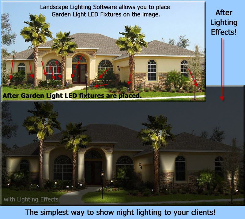 Garden Light Led Partners With Landscape Lighting Software For Outdoor Lighting Design Outdoor Lighting Design Landscape Lighting Outdoor Landscape Lighting