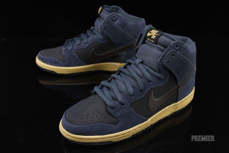 Nike Sb Dunk High Charcoal Now Available Kicksonfire Com Kicks Shoes Nike Shoes Cheap Nike Sb Dunks