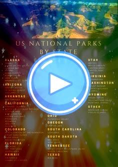 of the US National Parks by State If youre looking to take a outdoorsy vacation definitely look into visiting one of our National ParksAll of the US National Parks by Sta...