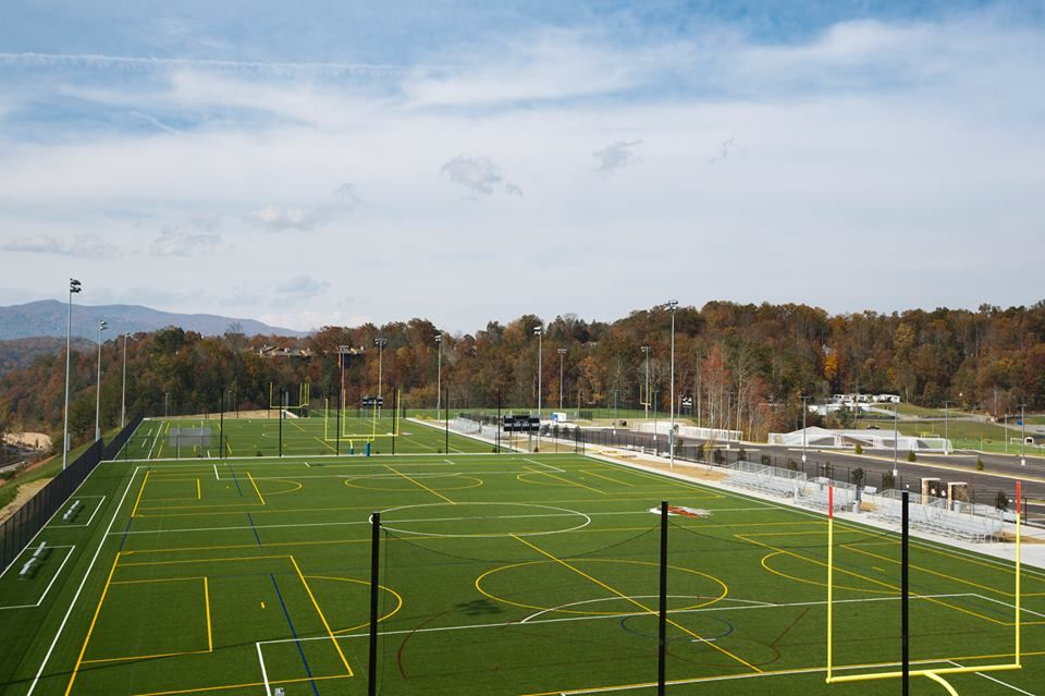 You can organize a sports tournament at Rocky Top Sports