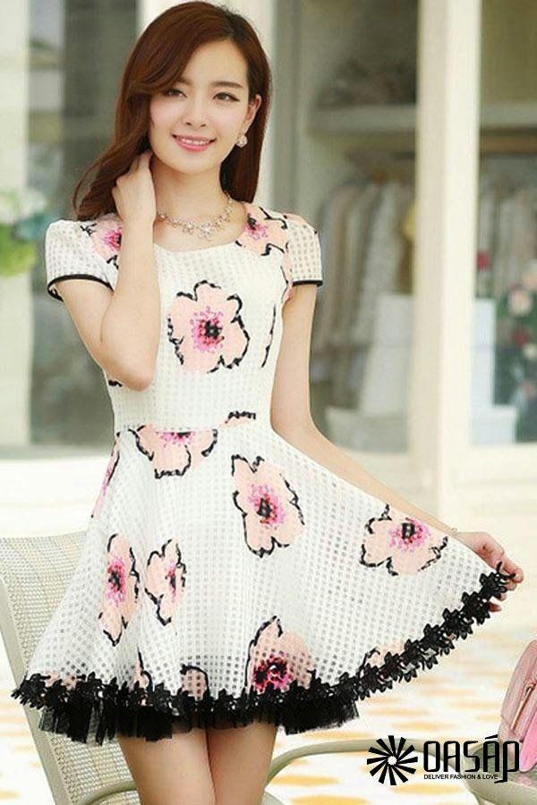 Vestidos elegantes moda japonesa