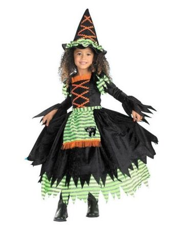 Storybook Witch Kids Halloween Costume - Girls Costume Findings - halloween costumes for girls ideas