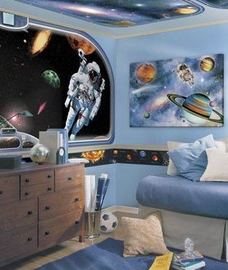 Buy Your Space Vistas Mural Style Border Here. Make An Impact In Your Kidu0027s  Room Or Nursery With This Vibrant Mural Border! These Panoramic Mural Style  ... Part 34