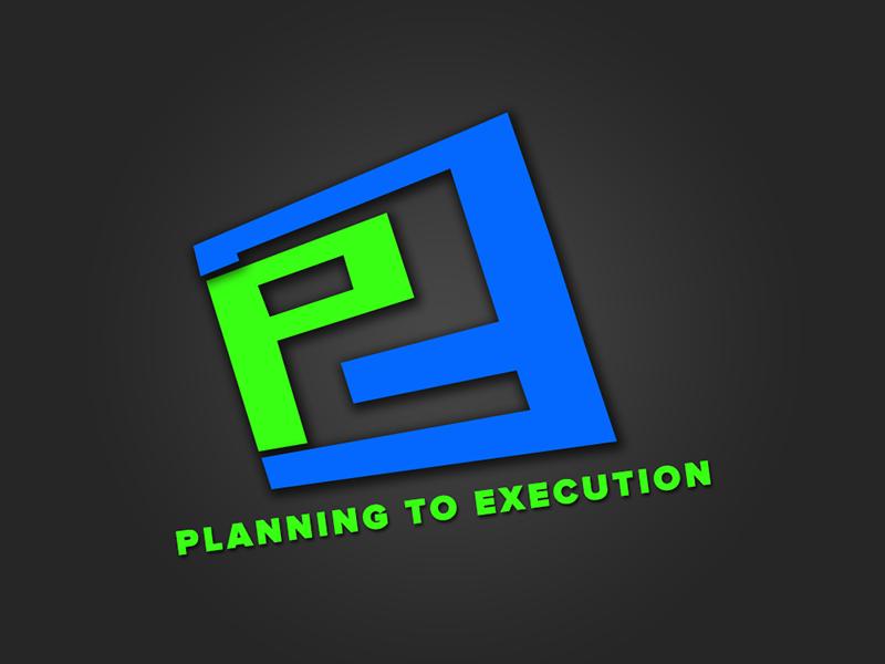 P2e logo Logo design, Logos, How to plan