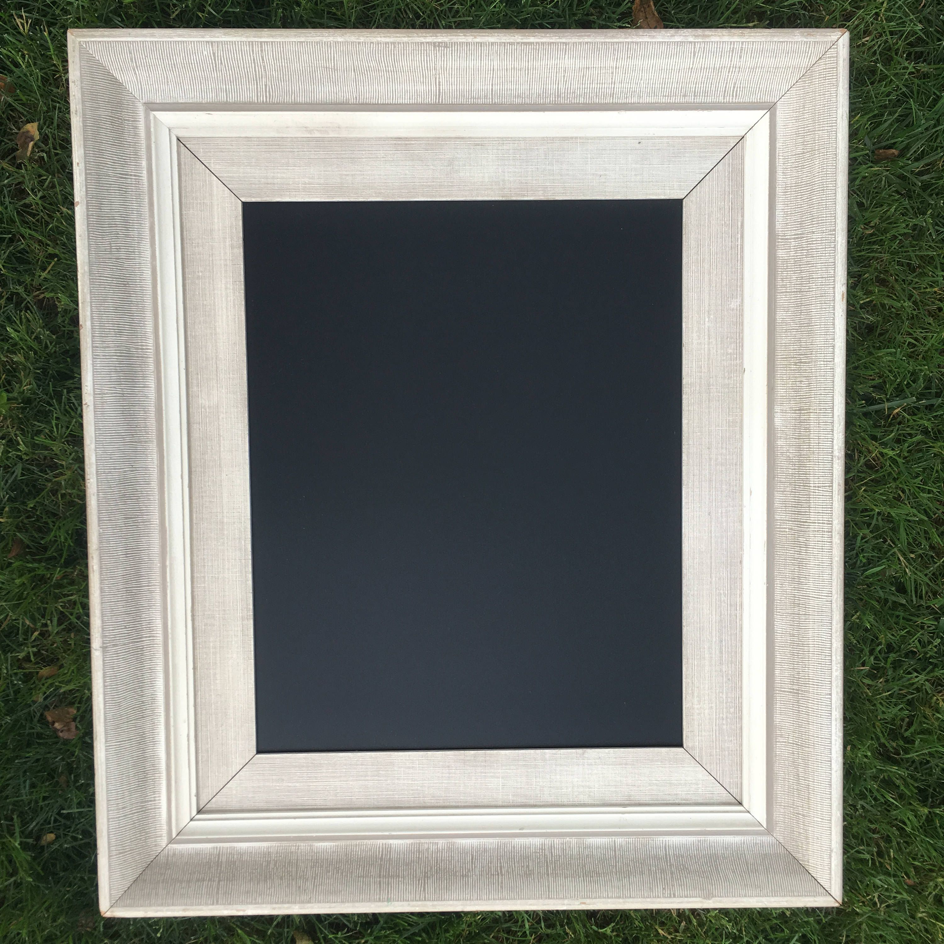 Chalkboard Frames, Chalkboard Paint, Wedding Chalkboards, A Frame, White Weddings,