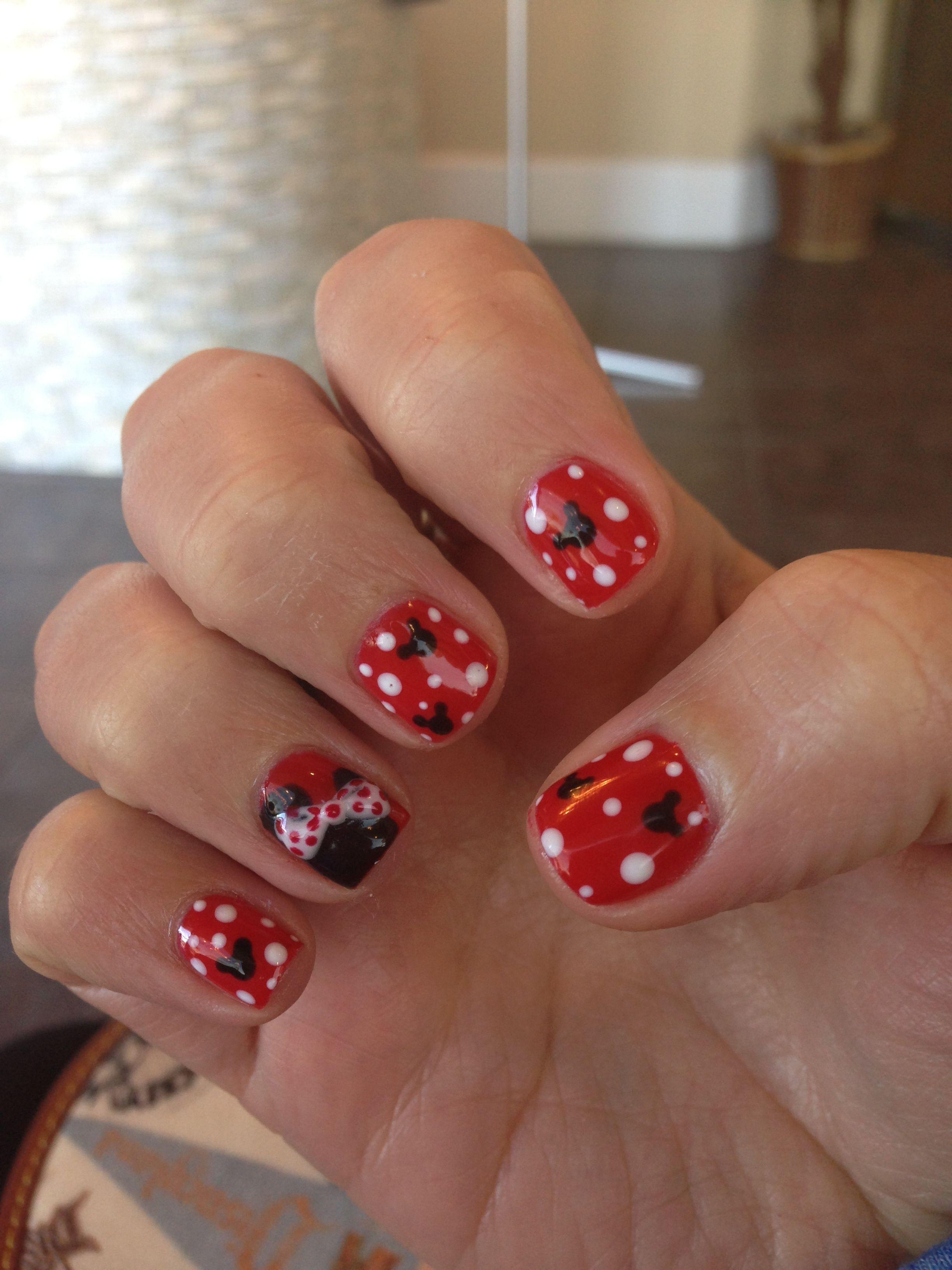 disney nails nail art