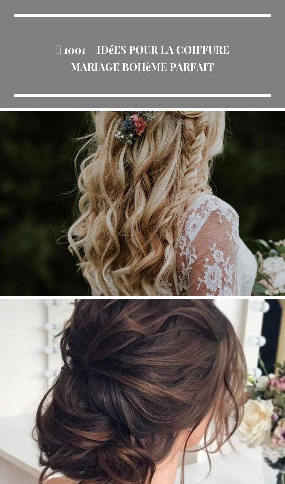 32+ Coiffure mariage champetre idees en 2021