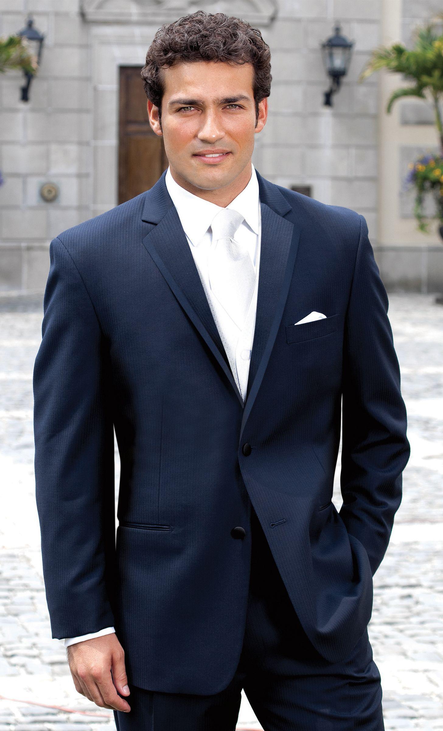 Navy Kingston Tuxedo For The Groom