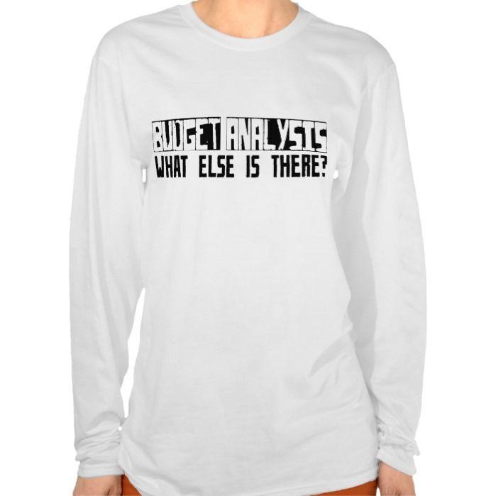 Budget Analysis What Else Is There? Tee T Shirt, Hoodie Sweatshirt
