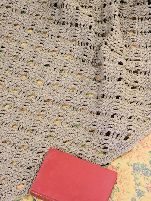 Romantic Lattice Throw Free Crochet Pattern | crochet | Pinterest ...