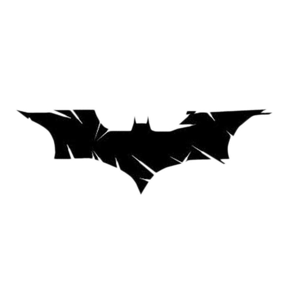 Black Bat Batman Removable Car Stickers Diy Auto Beauty Reflective Decals Decor Home Garden Home Decor Decals Stic Reflective Decals Car Stickers Batman [ 1000 x 1000 Pixel ]