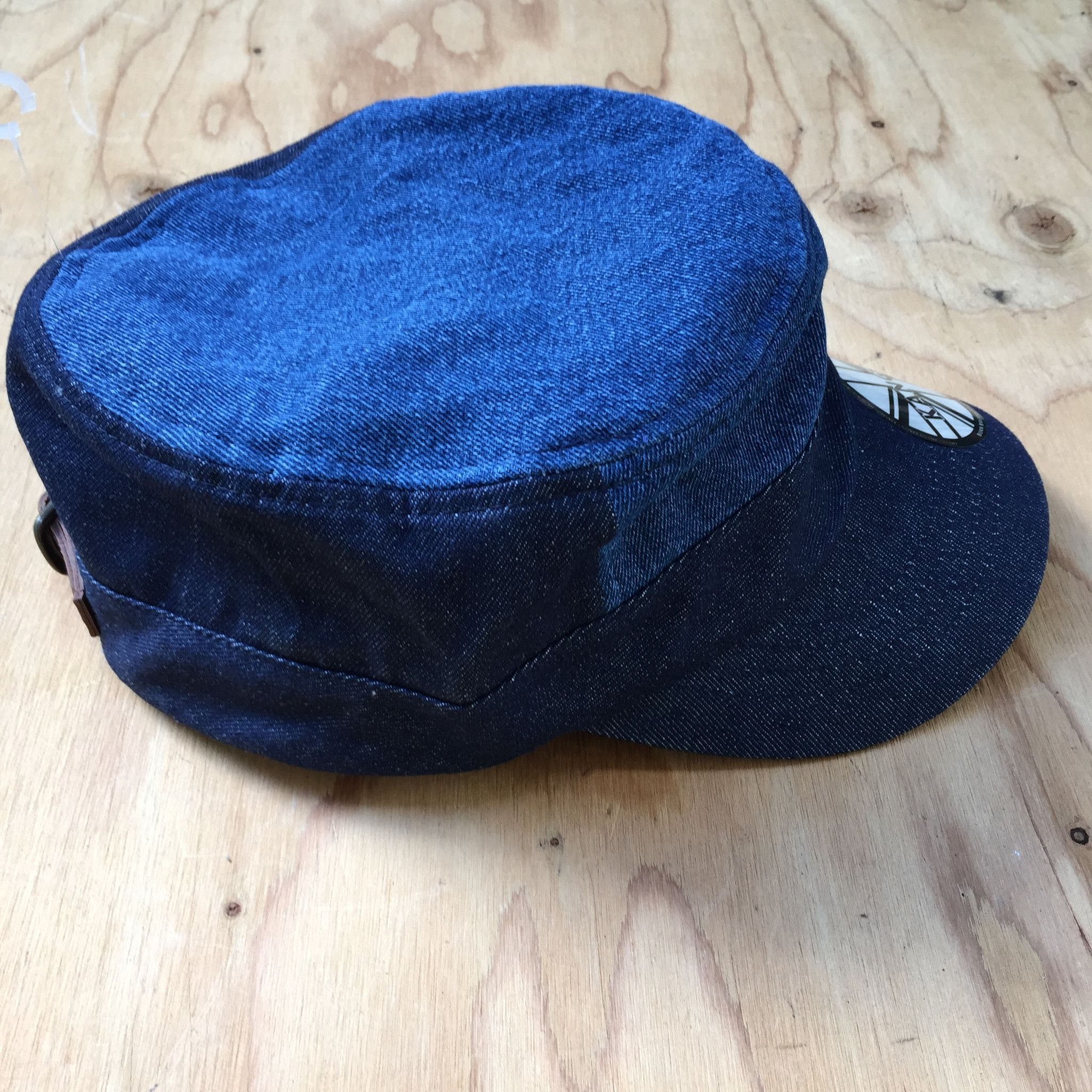 Kangol Cadet Blue Jeans Jah Army Military Army Cadet Cap Hat 100% Cotton  ARMY 725f99e0df2