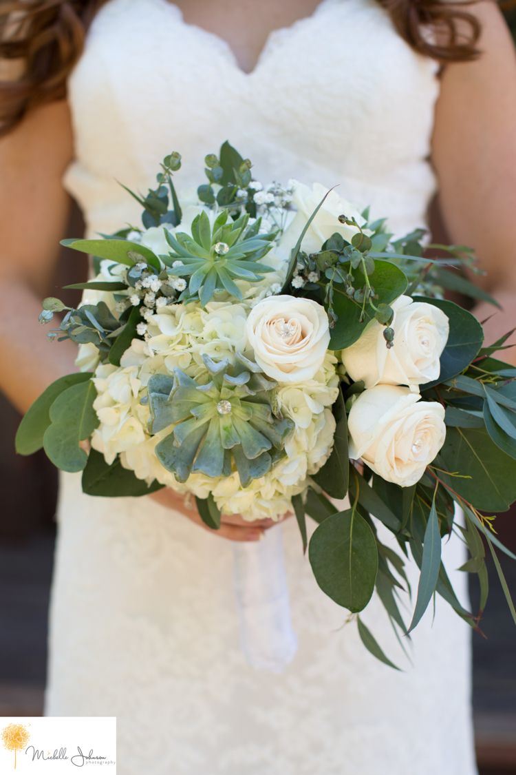 michelle johnson photography succulent bouquet, green mountain ranch lytle creek