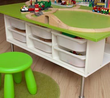 eisenbahn spieltisch diy zweimalb kinderzimmer pinterest spieltische entscheidungen. Black Bedroom Furniture Sets. Home Design Ideas