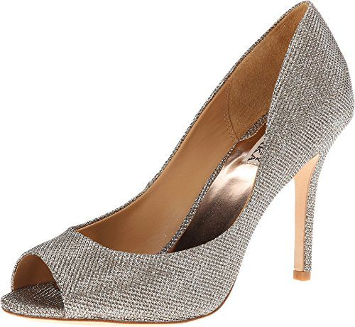 Womens Shoes Badgley Mischka Jossie Platino Diamond Drill