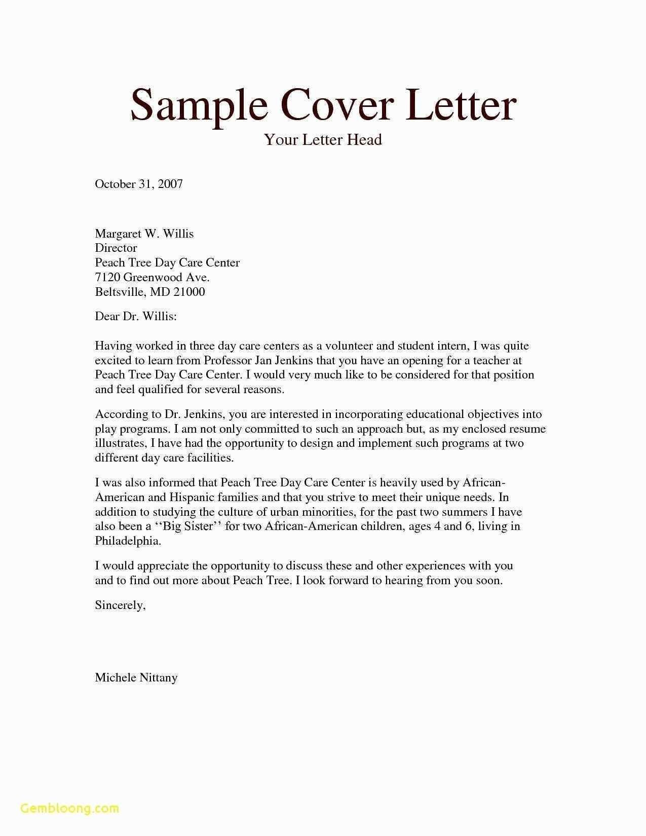 27 Sales Cover Letter Examples Sample Representative Fresh