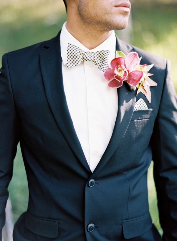 Groom with Fall Boutonniere   Boutonnieres, Groom style and Wedding