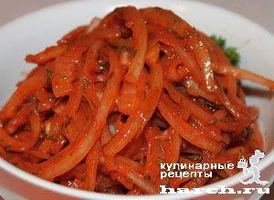 Лук закусочный в томатном соусе - Простые рецепты Овкусе.ру