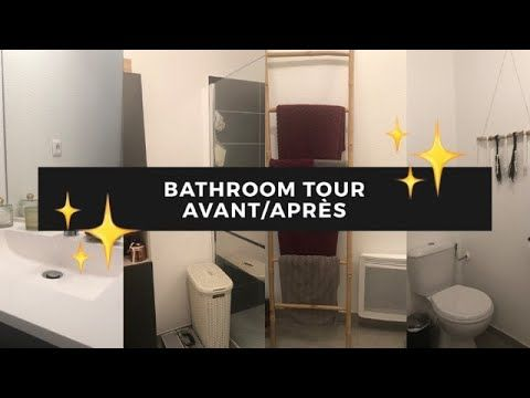 Video N 4 Bathroom Tour Avant Apres Youtube Salle De