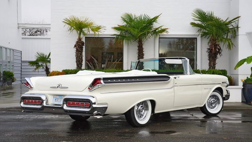 1957 Mercury Monterey Convertible Cars Ford Fairlane Lincoln Antique