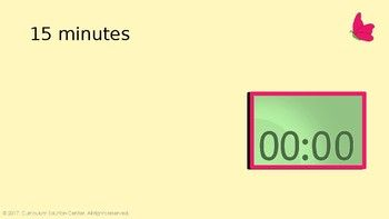 powerpoint timers countdown timer presentation clock centers