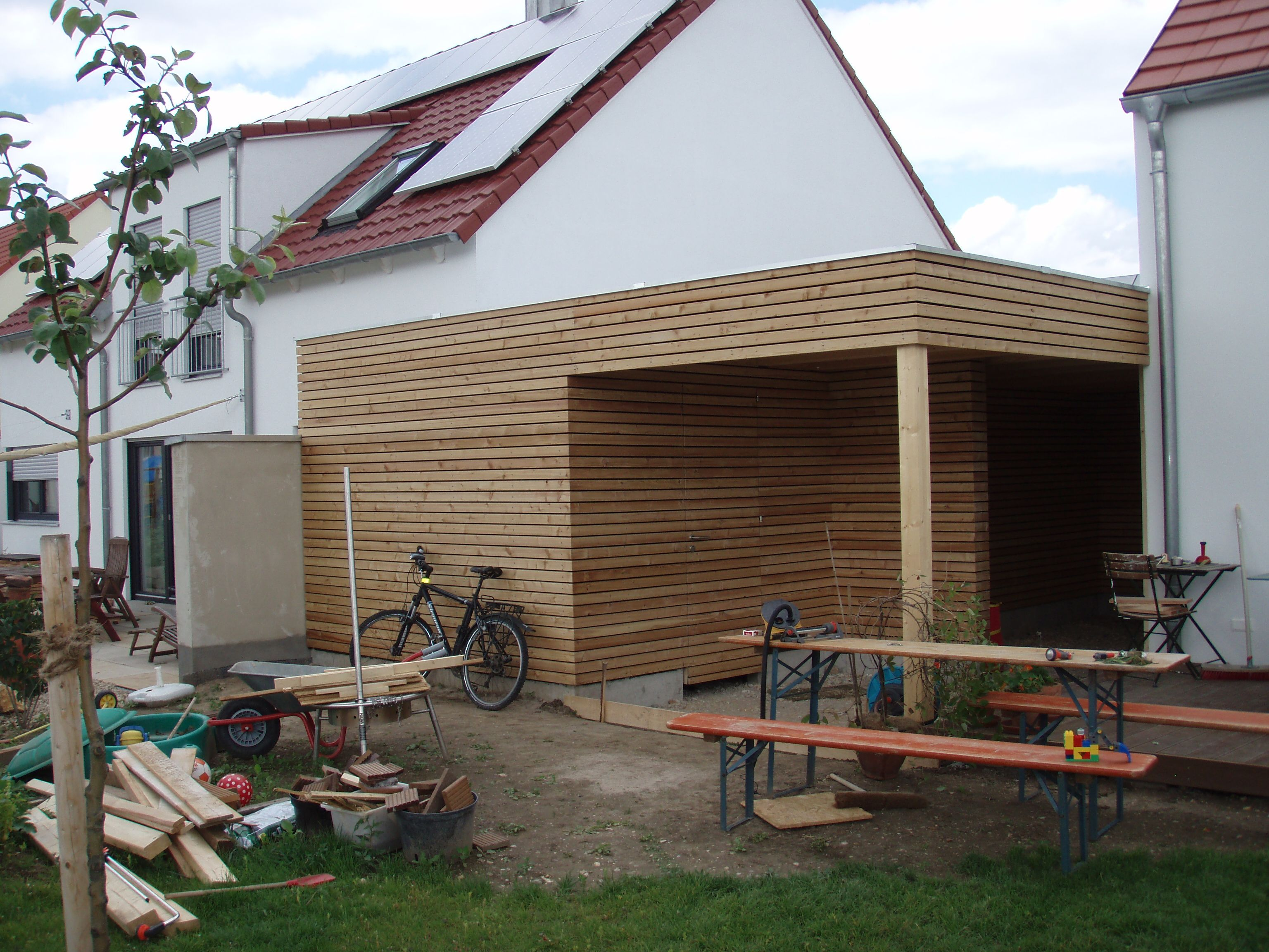 chiemgau werkstatt carport in regensburg outdoor pinterest regensburg. Black Bedroom Furniture Sets. Home Design Ideas