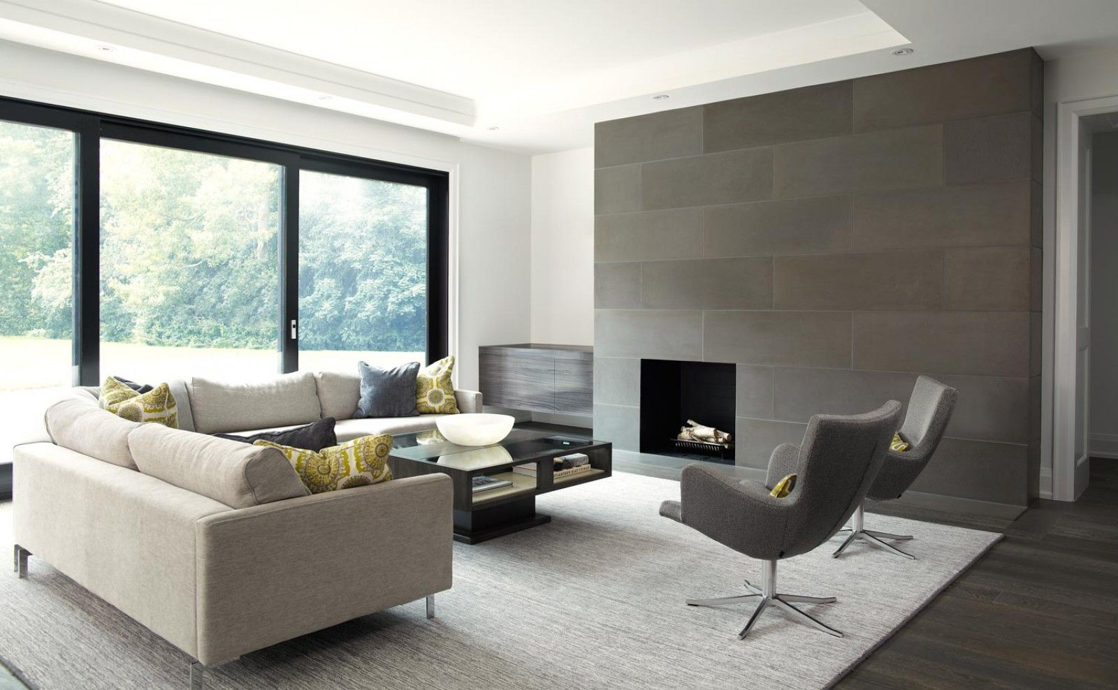 Modern Fireplace Tile Surrounds Experience Modern Fire
