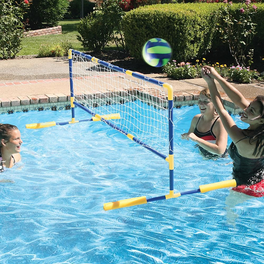 Floating Water Volleyball Game Multi Water Volleyball Swimming Pool Water Pool Volleyball Net