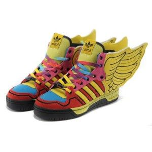 ADIDAS ORIGINALS X JEREMY SCOTT WINGS 2.0 COLORFUL SHOES