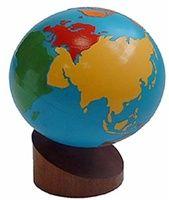 Colored Globe � Continents