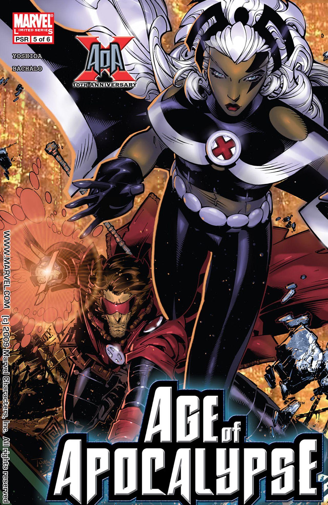 X Men Age Of Apocalypse 05 En 2020 Superheroes Marvel Personajes Comic Dibujos