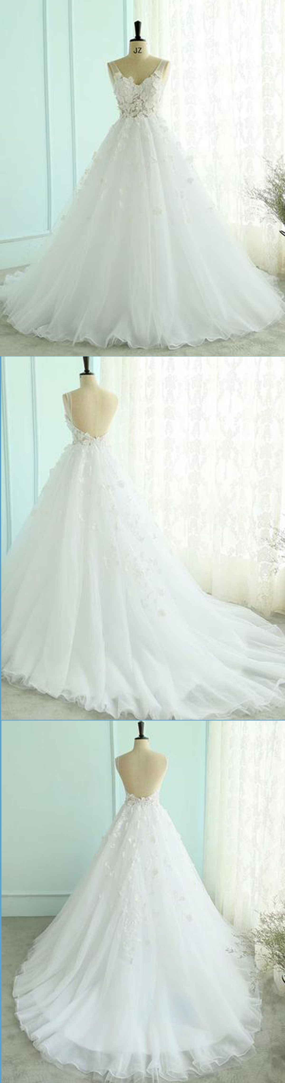 New wedding dress   New Wedding Dresss  Elegant white lace tulle long prom gown