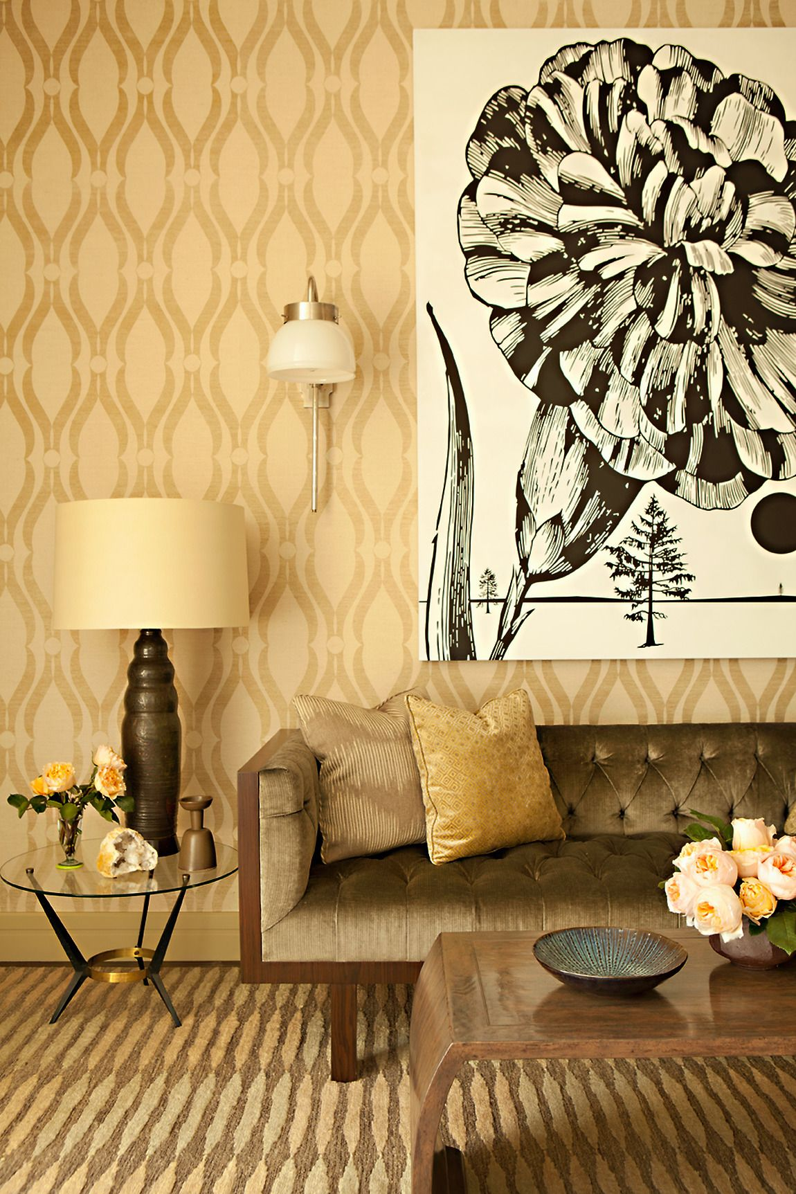 Showhouse Gallery • Grasscloth Wallpaper • Natural Wallcoverings ...