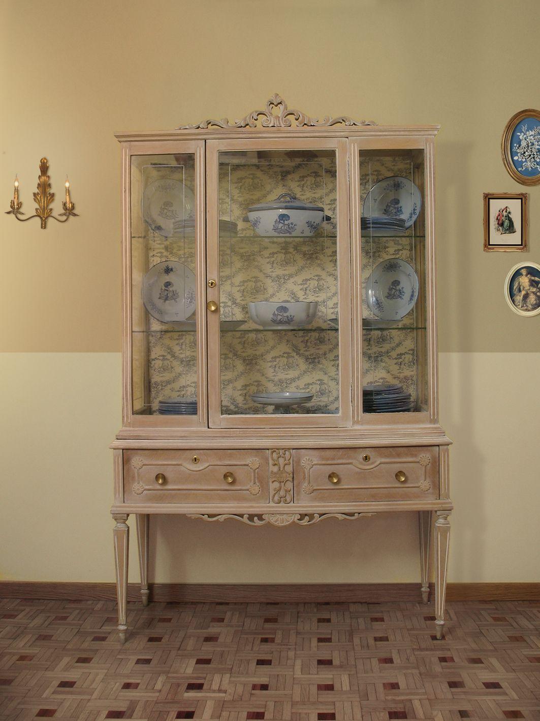 Resultado de imagen de cabecero antiguo pintado salon - Armarios antiguos baratos ...