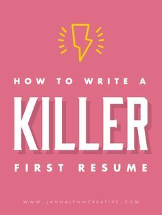 how to write a killer first resume feminine professional microsoft word resume templates design resources