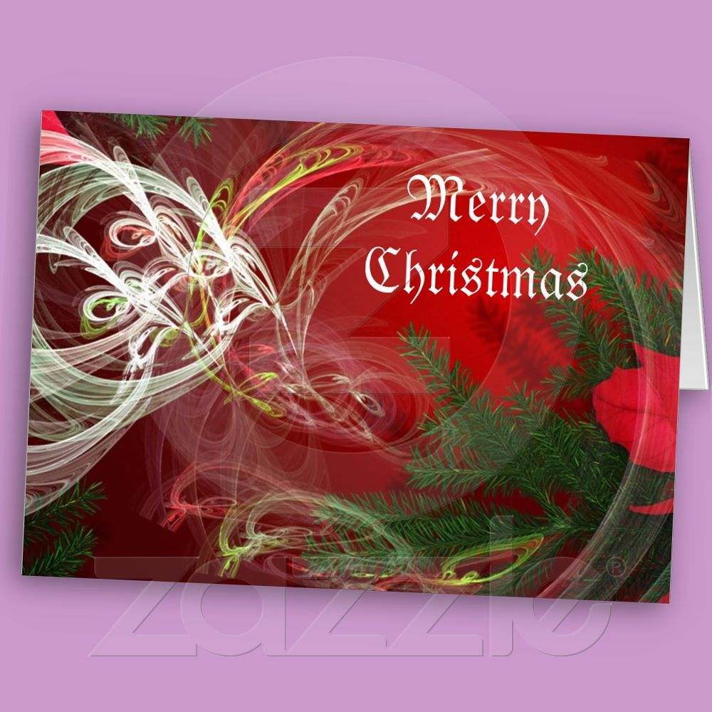 Christmas Fractal Christmas Card from 2.95