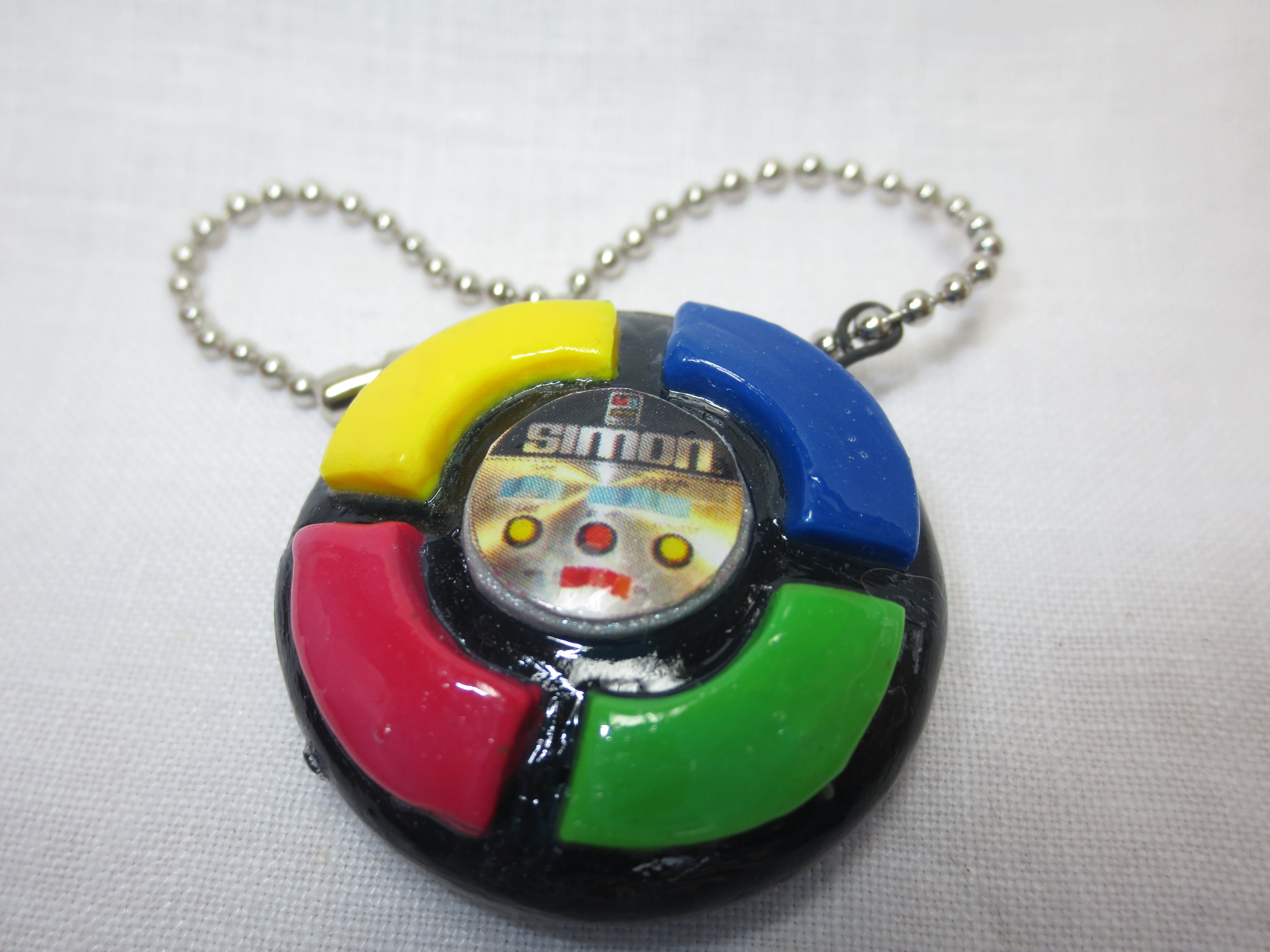 Simon Game 80s Toy. Polymer Clay Sculpting clay