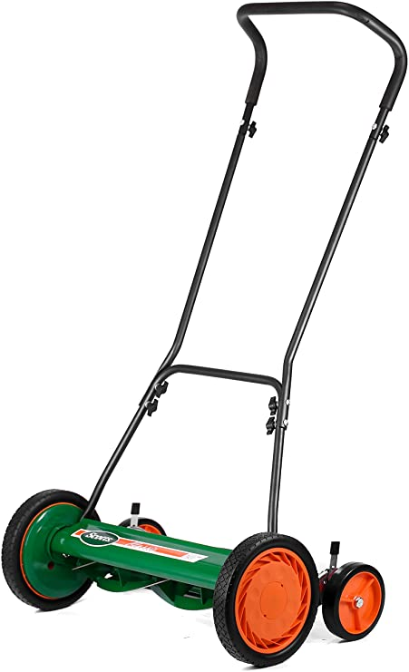 Amazon Com Scotts Outdoor Power Tools 2000 20s 20 Inch 5 Blade Classic Push Reel Lawn Mower Green Walk In 2020 Best Lawn Mower Reel Mower Used Riding Lawn Mowers