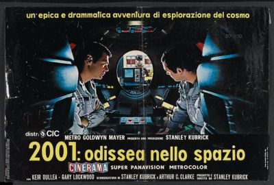 60s Italian Movie Posters 2001 A Space Odyssey Italian Style Prints Allposters Co Uk Italian Movie Posters Movie Posters Space Odyssey