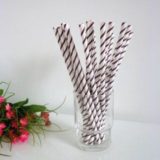 Dark Brown Thin Striped Paper Straws http://www.paperstrawssale.com/dark-brown-thin-striped-paper-straws-500pcs-p-235.html