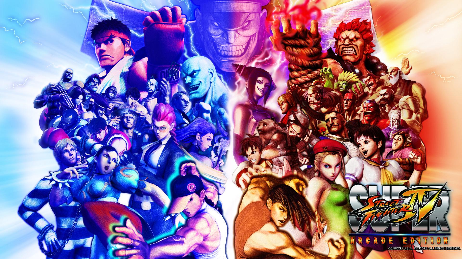 Street Fighter 5 Wallpaper: Super Street Fighter IV Arcade Edition: Wallpapers